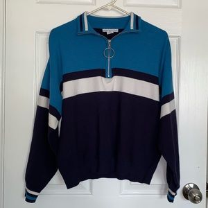 Urban Outfitters Crewneck (Blue multicolored)